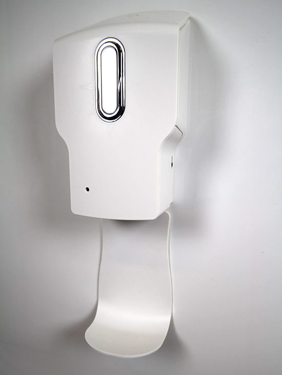desinfectie dispenser met sensor